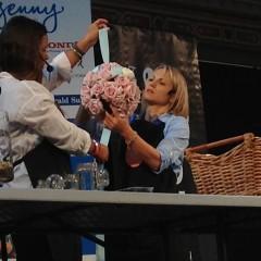 Bloom College flower demonstration