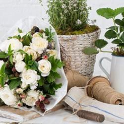 Bouquet flower basics course