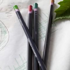 Line element of floral design